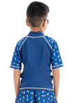 Expo 2020 Dubai Iconic Boys Kids Rashguard - Short Sleeve