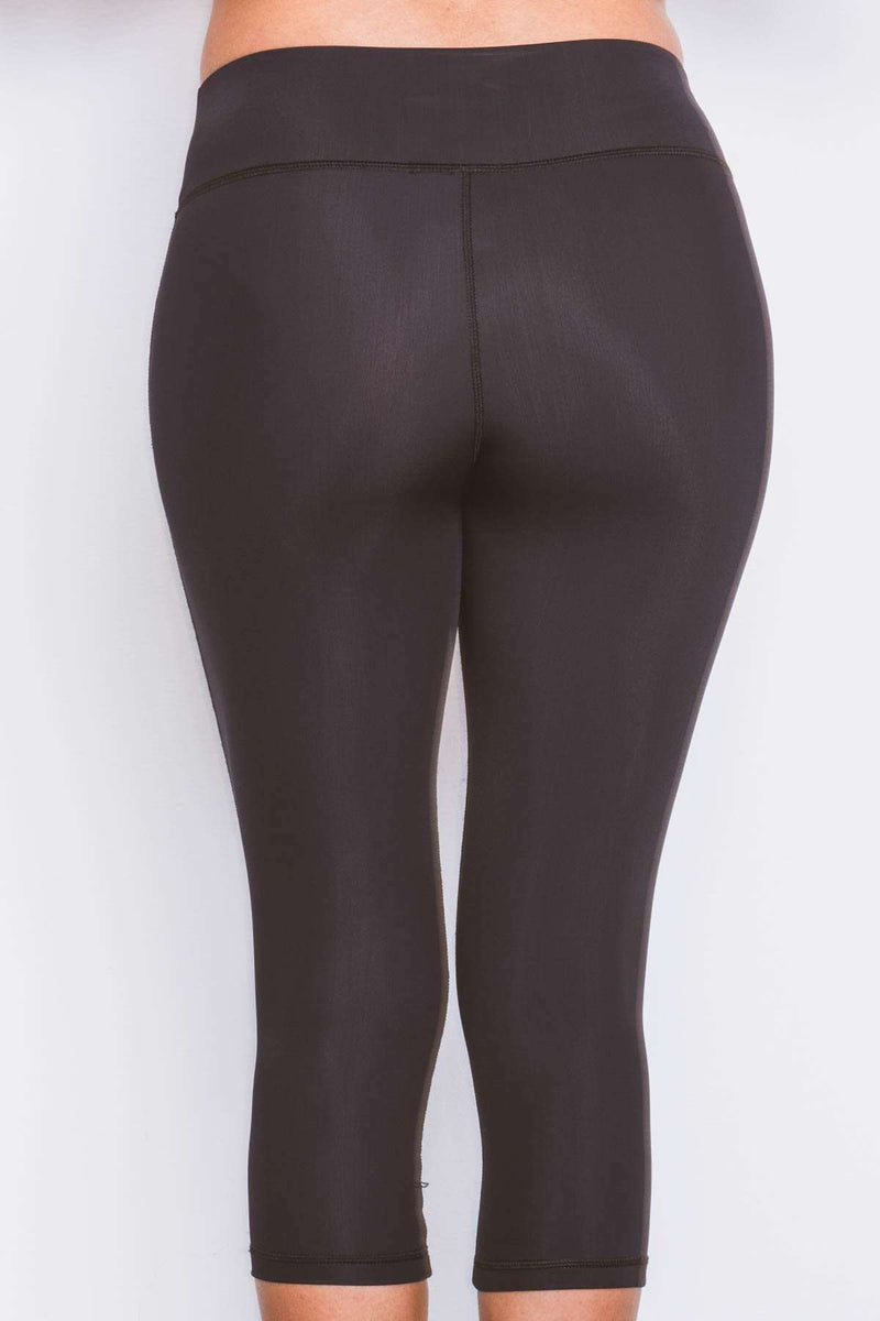 Expo 2020 Dubai Ladies Swim Tights - 3/4 Length