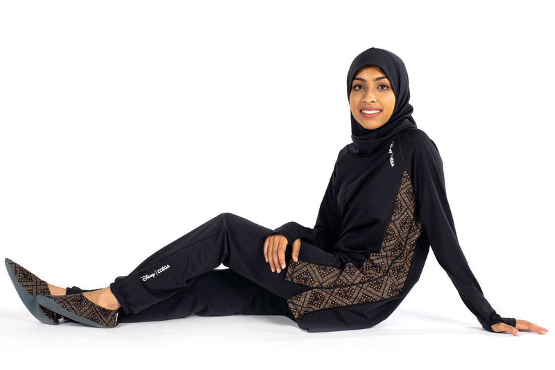 Coega Disney Ladies Islamic Suit - Three Piece Set Sun Protective Swimwear