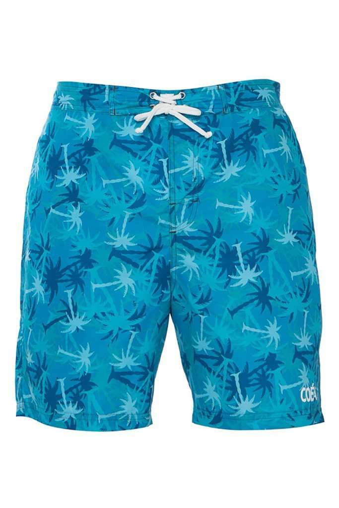 Teal Palm Trees / XL