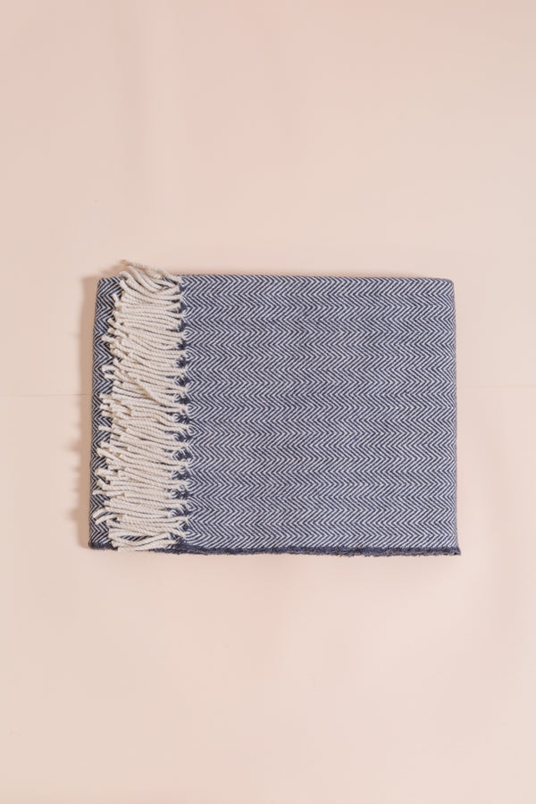 Wolldecke dunkelgrau, wool blanket dark grey