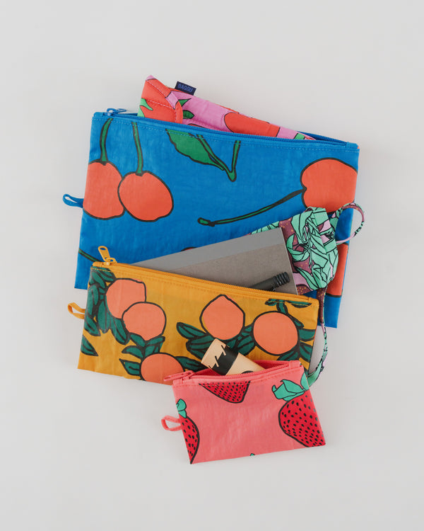 Baggu Go Pouch Set - Allzweck Beutel Set - Backyard Fruit