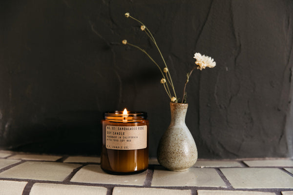 P.F. Candle Co No.32 Sandalwood Rose