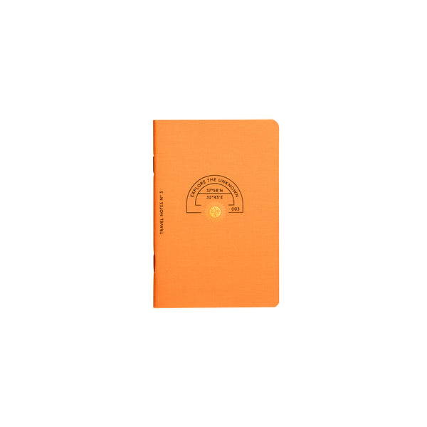 TRAVEL NOTES ORANGE