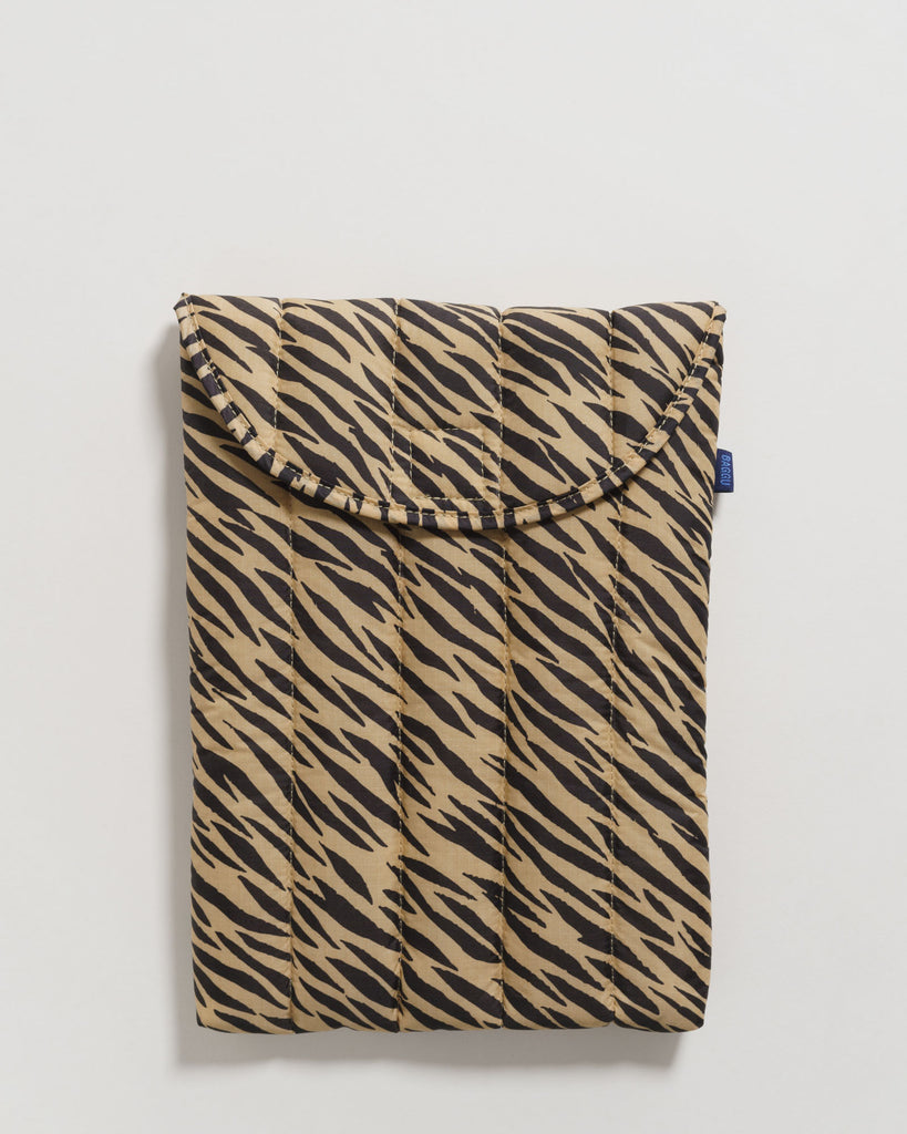 "Baggu puffy laptop sleeve 13"" - Laptop Tasche tiger stripe"