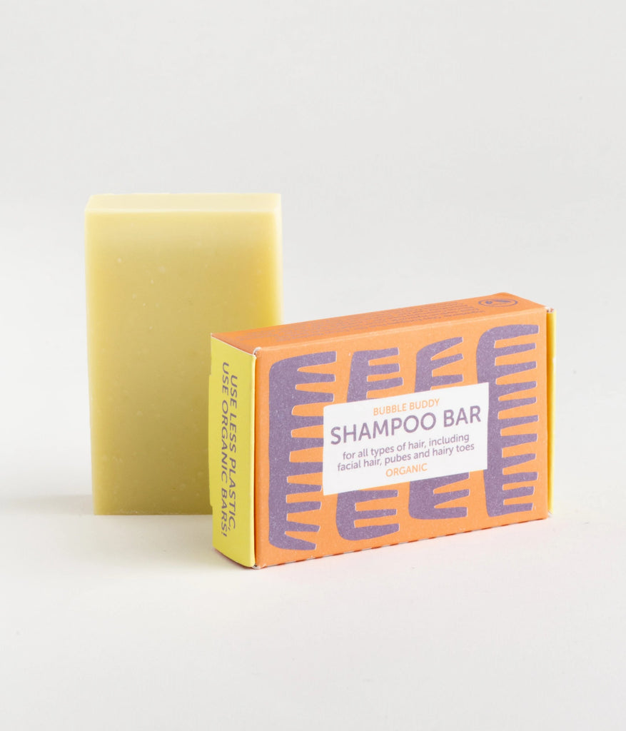 Bubble Buddy organic shampoo soap bar - festes Shampoo