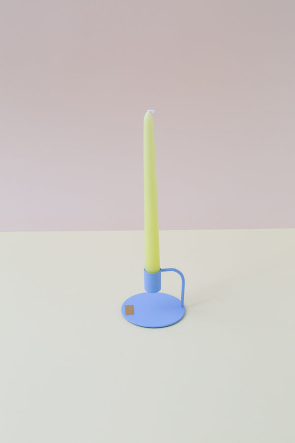 Spitzkerze - 25cm - tapered candle, lime matt