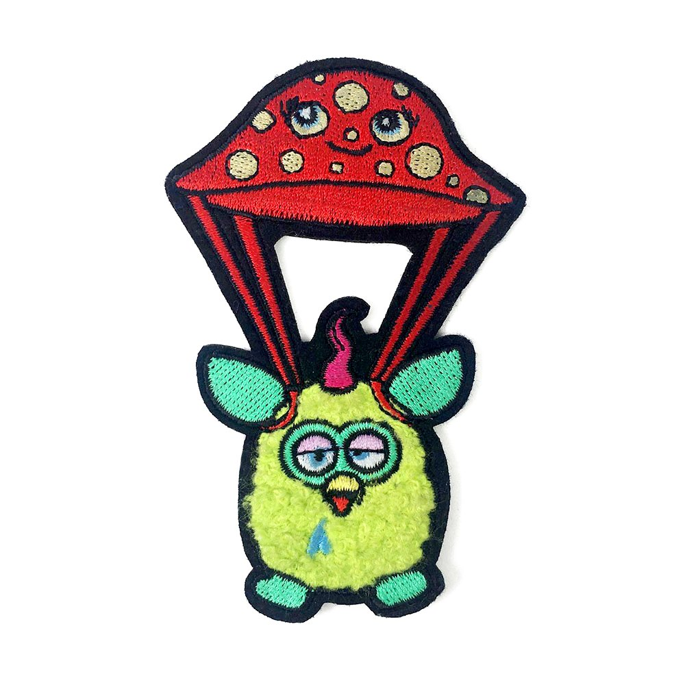Furby 'Flying High' Chenille Patch