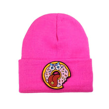 Pink Patch Beanies