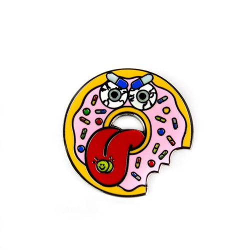 Donut Addiction Enamel Pin