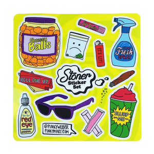Stoner Sticker Set