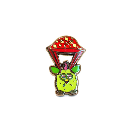 Furby 'Flying High' Enamel Pin