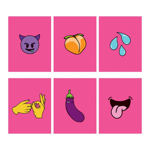 Sexmoji Cards (Set of 6)