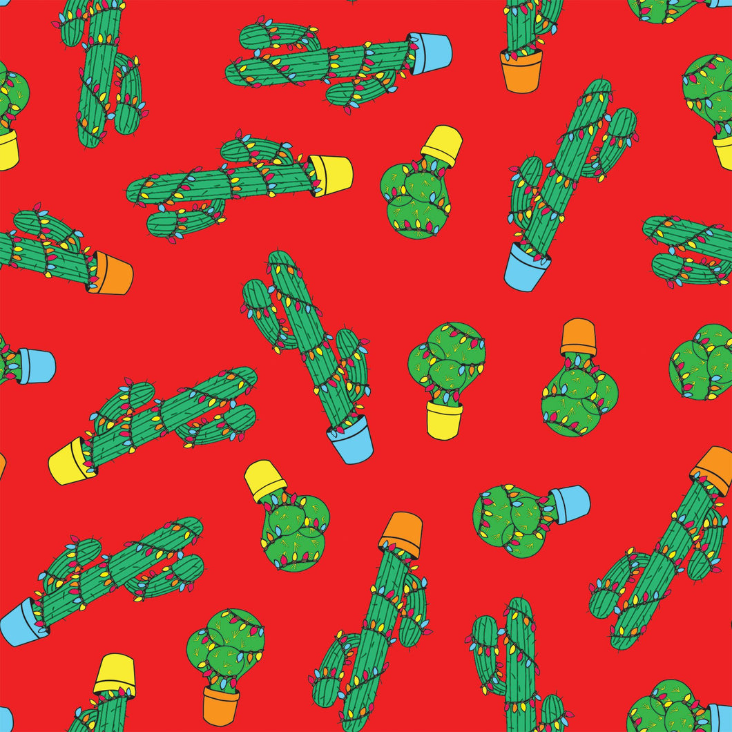 Cactusmas Wrapping Paper