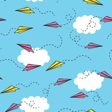 Paper Plane Wrapping Paper