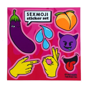 Sexmoji Sticker Set