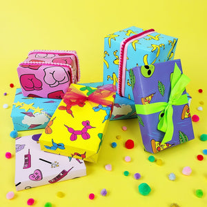 Party Animal Gift Wrap