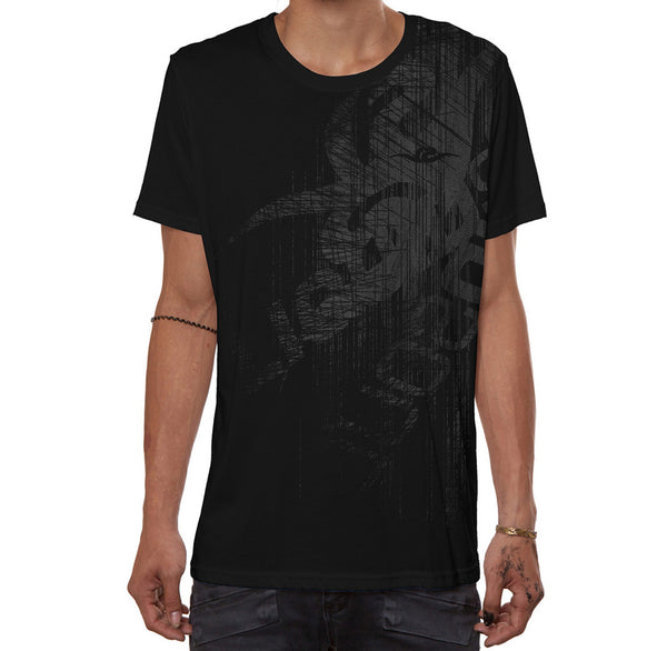 New Liquid Soul T-Shirt - Black