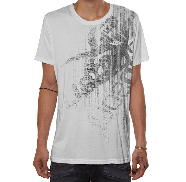 New Liquid Soul T-Shirt - White