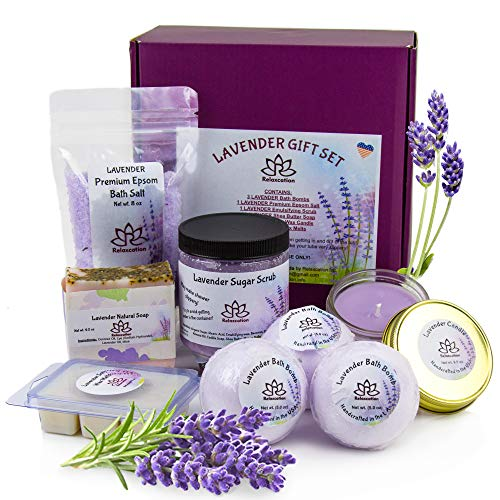 handmade-global-crafts - Organic Spa Bath Basket set of products