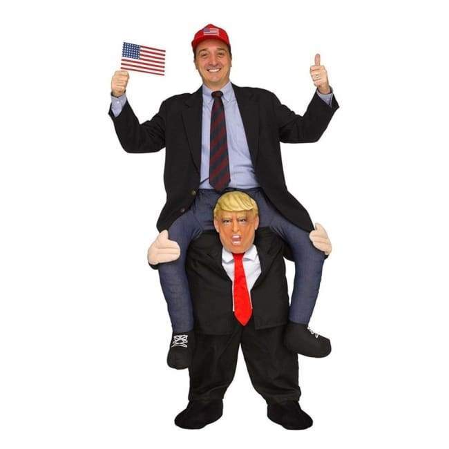 handmade-global-crafts - Ride On Trump Costume