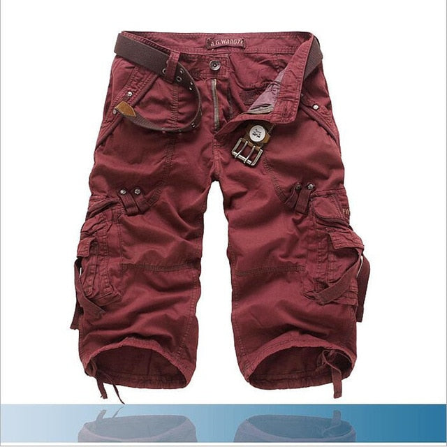 Men Casual Army Shorts Camo Camouflage Sports Short Pants Trousers Sweatpants
