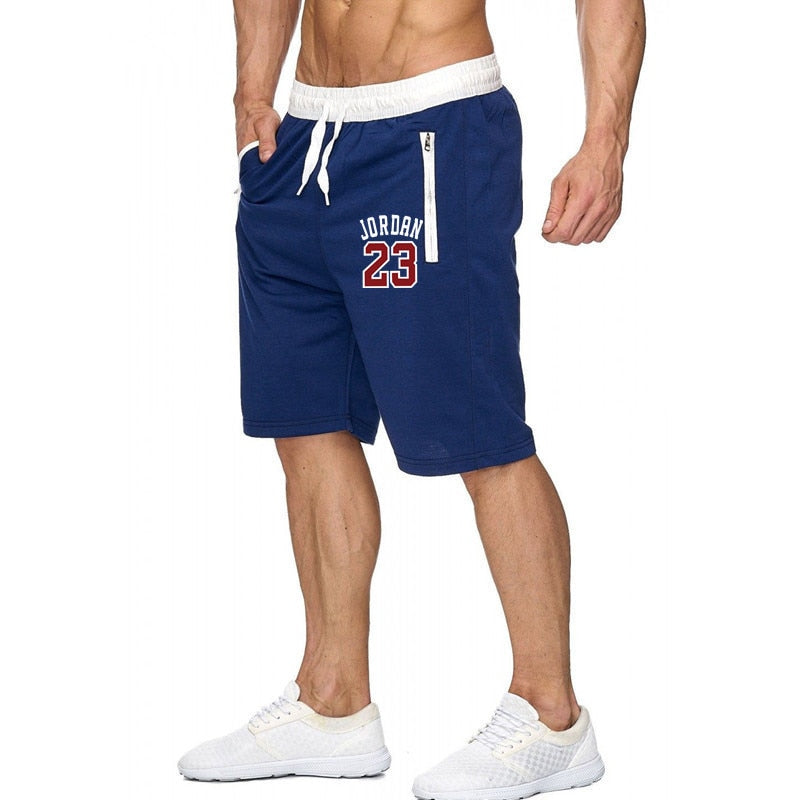 handmade-global-crafts - Fashion New printing Mens Shorts Fitness Bodybuilding Male short Sweatpants Workout 2019 Spring Summer Men Leisure Shorts