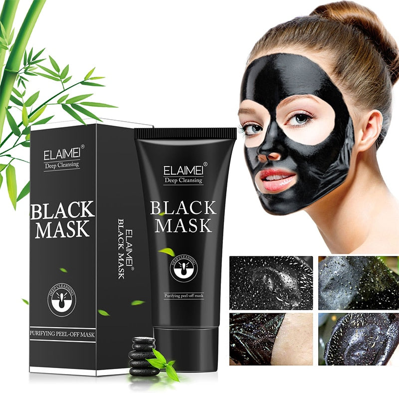 handmade-global-crafts - Blackhead Remove Facial Masks Deep Cleansing Purifying Peel Off Black Nud Facail Face black Mask