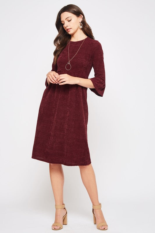 Mulberry Midi Dress