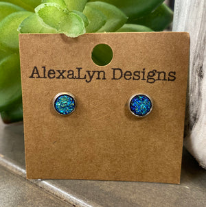 Mini Iridescent Studs
