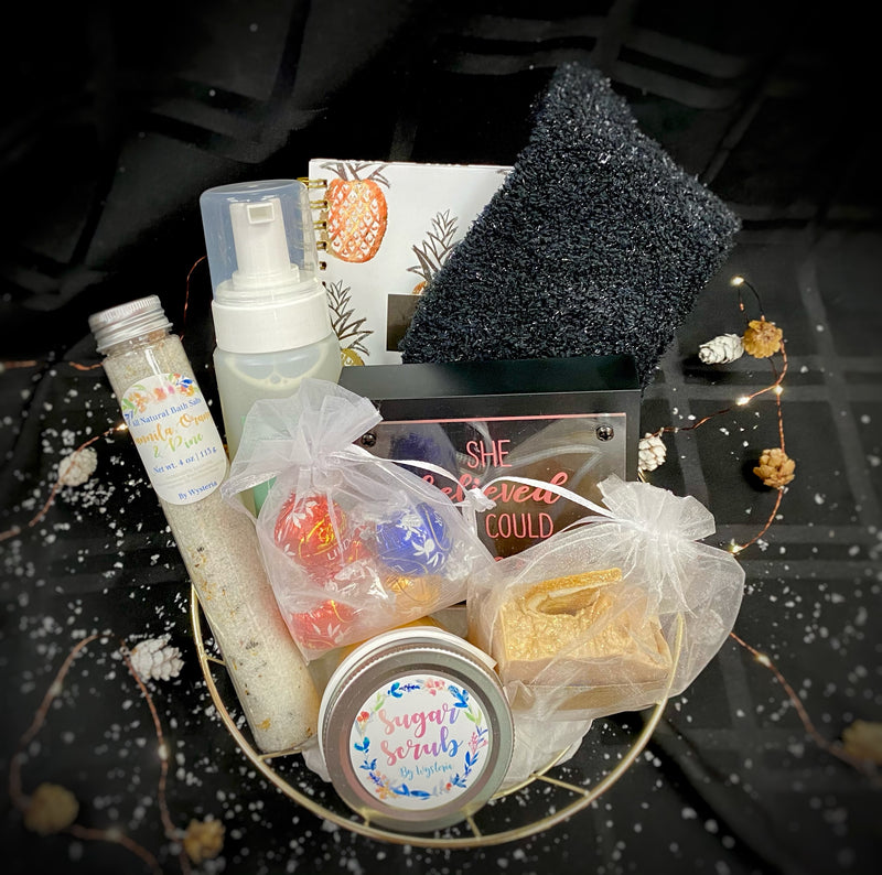 """Spa"" Gift Basket ($40 Option)"