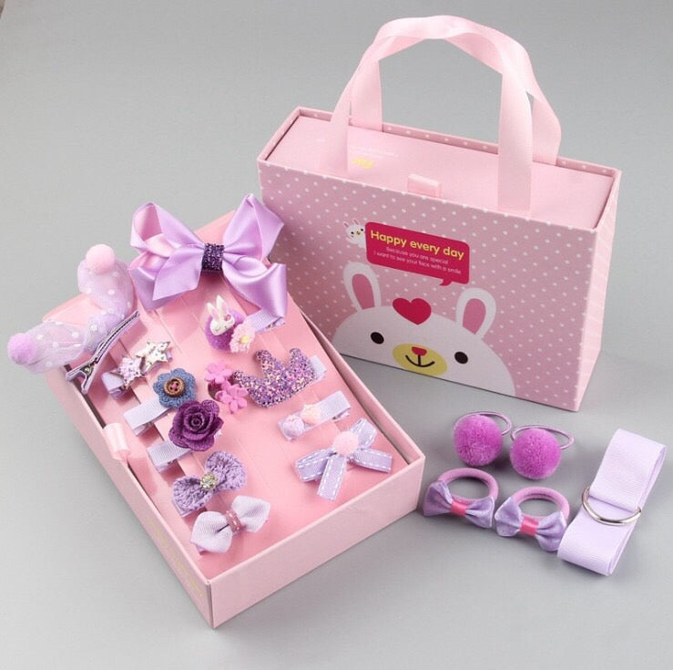 HAIR ACCESSORIES SET FOR KIDS - [ PERFECT GIFT ] - Unique Brazilian Jewelry (3972172841030)