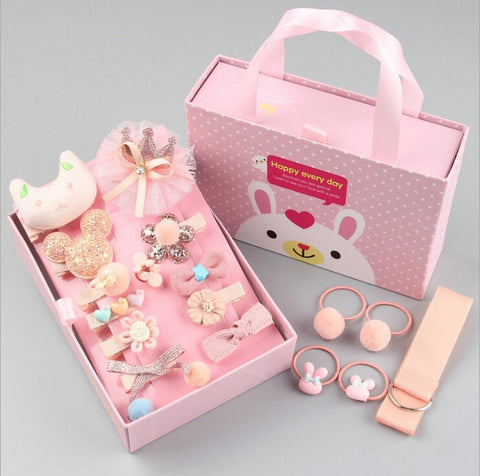 HAIR ACCESSORIES SET FOR KIDS - [ PERFECT GIFT ] - Unique Brazilian Jewelry (3972174708806)