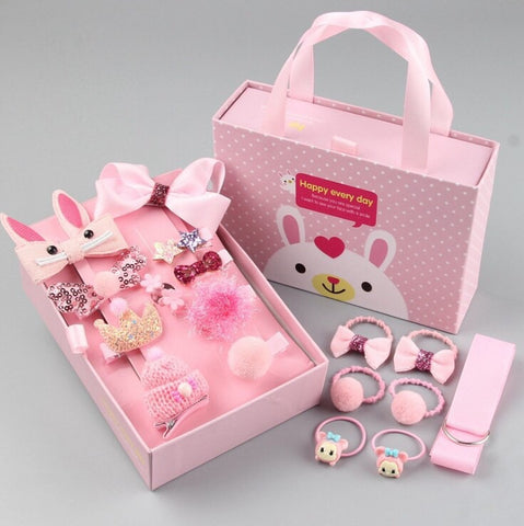 HAIR ACCESSORIES SET FOR KIDS - [ PERFECT GIFT ] - Unique Brazilian Jewelry (3972171530310)