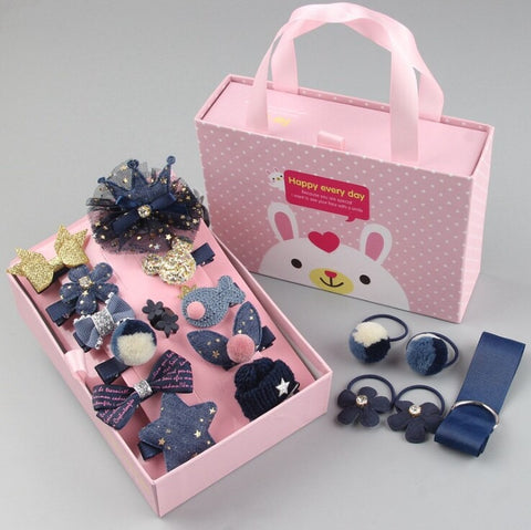 HAIR ACCESSORIES SET FOR KIDS - [ PERFECT GIFT ] - Unique Brazilian Jewelry (3972168187974)