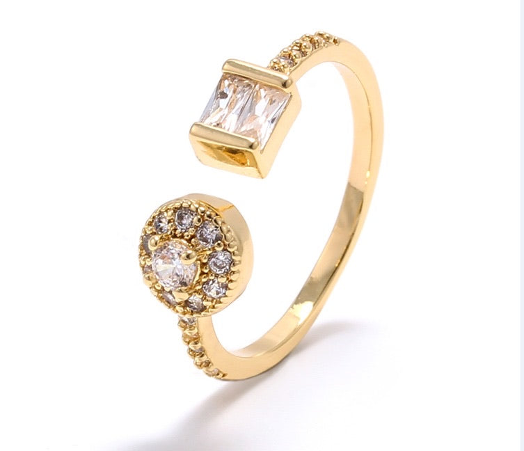 18K GOLD PLATED RING | CODE: KA2 - Unique Brazilian Jewelry (4483436249163)