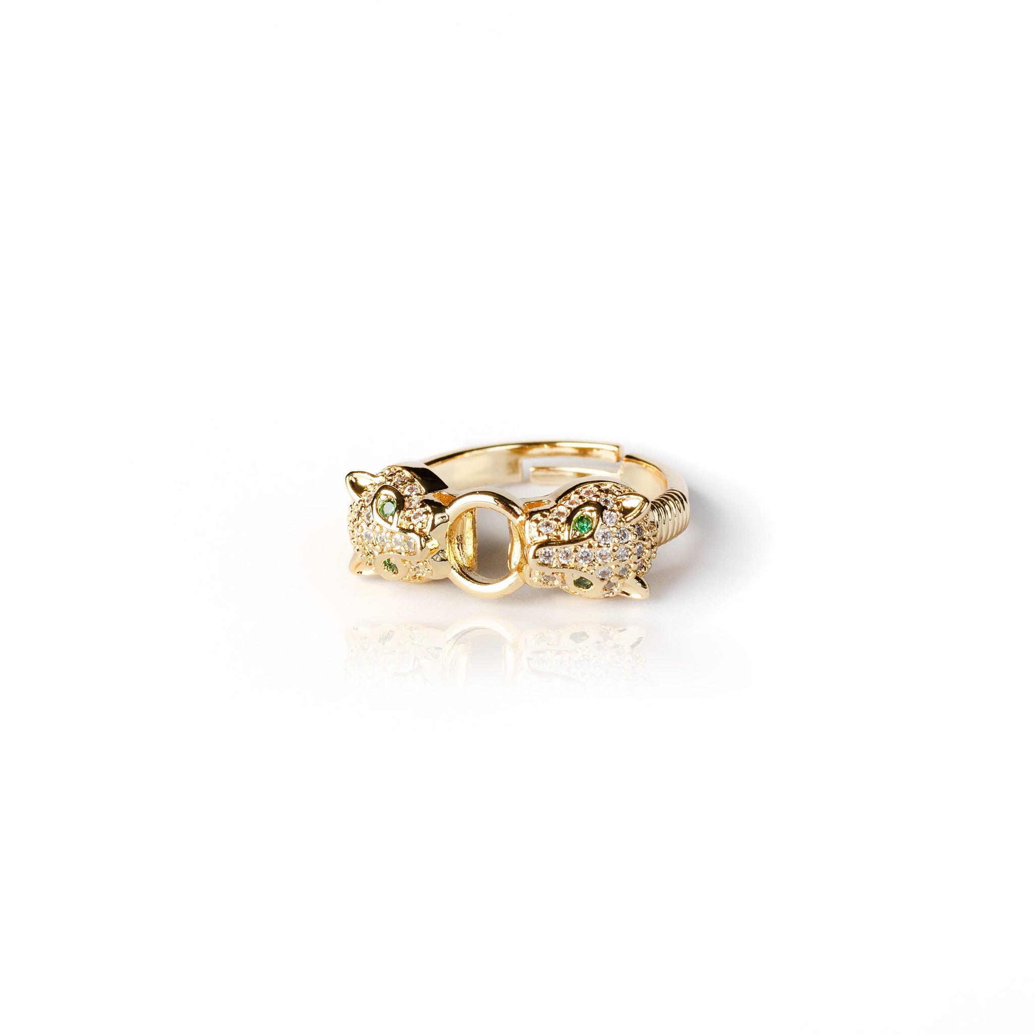 BABY JAGUAR RING | 18K Gold Plated