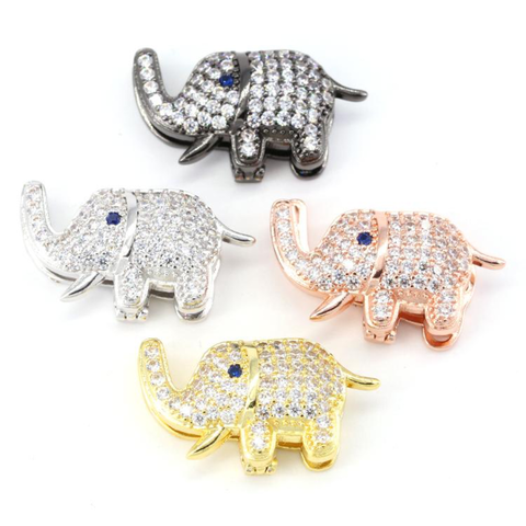 STUDDED ELEPHANT CHARMS LIFE COLLECTION - Unique Brazilian Jewelry (4503204986955)