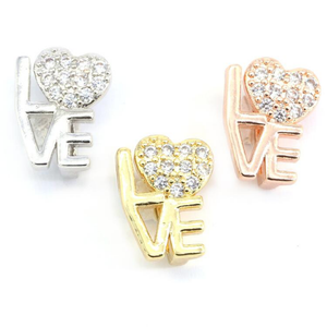 STUDDED LOVE CHARMS LIFE COLLECTION - Unique Brazilian Jewelry (4503197089867)