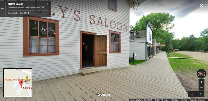 Kelly's Saloon - Fort Edmonton Park