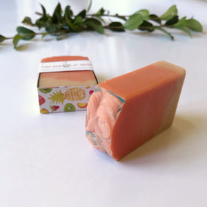 Tropical Sun Soap Bar with Calendula Infused Oils and Goat Milk