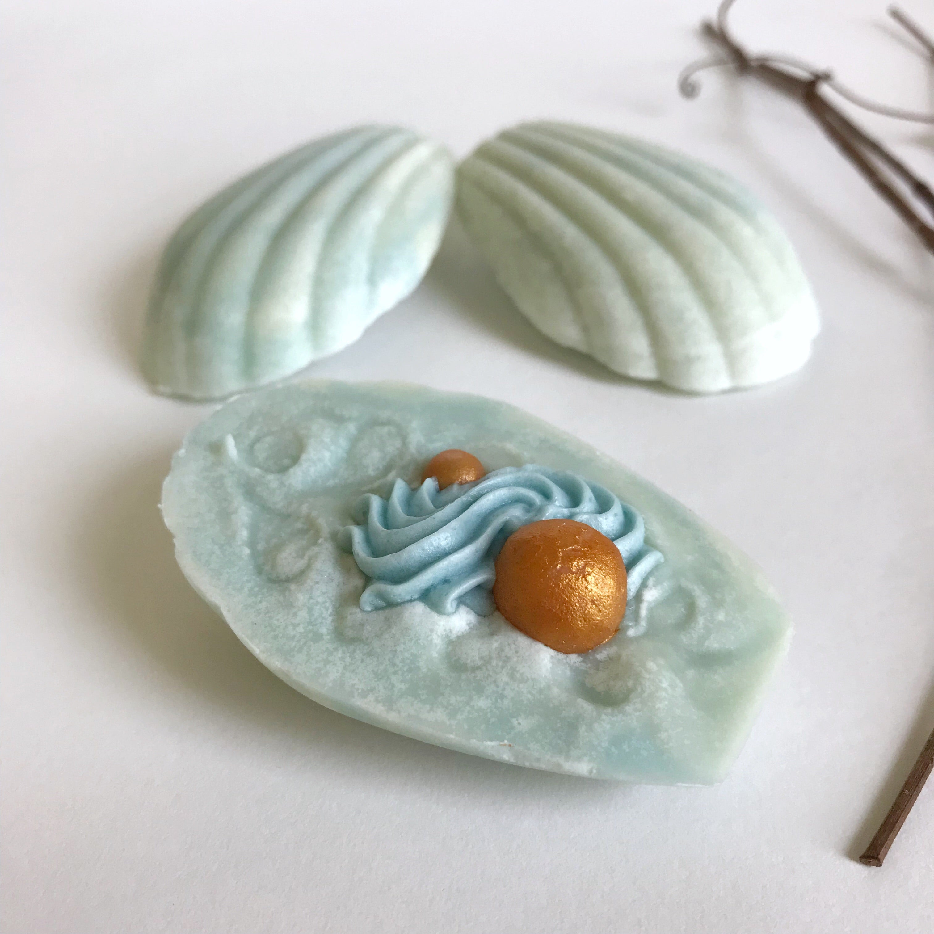 Shell Soap Party Favors Bridal and Baby Showers