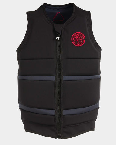 Follow - Surf Edition Mens Wake Comp Vest Black 2019