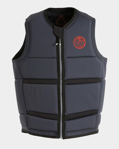 Follow - Surf Edition Plus Mens Wake Comp Vest Black 2019