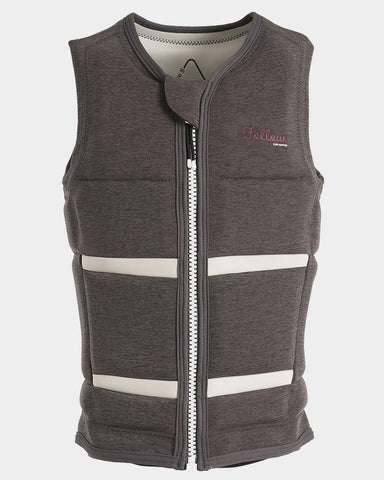 Follow - Surf Edition Ladies Wake Comp Vest Grey 2019