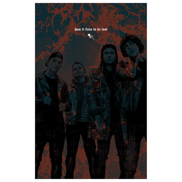 How It Feels To Be Lost - signed poster
