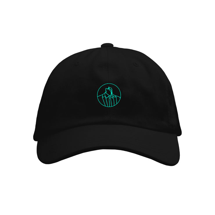 Candle Black Dad Hat