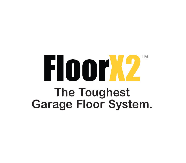 3-Car Garage FLOORX2 Solid Colour Flooring System