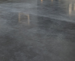 2-Car Garage Polished Concrete Flooring System