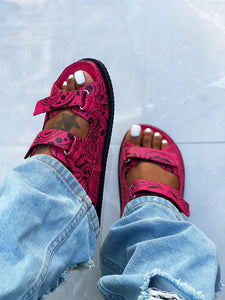 The Girlfriend Sandal Pink